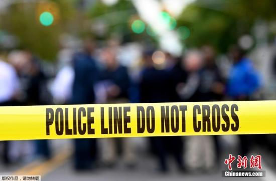 资料图:当地时间10月12日,美国纽约,布鲁克林发生枪击事件,造成4人死亡,另有3人受伤。