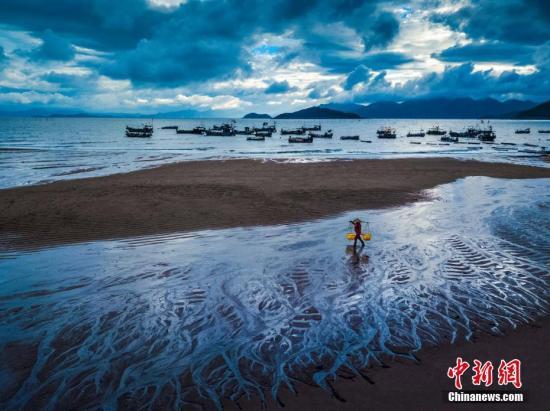 霞浦位于台湾海峡东南岸,有着少达480千米的海岸线,位居祸建省第一。郑戈 摄
