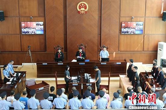中国检方加大涉黑恶势力办案力度 2019年已批捕530