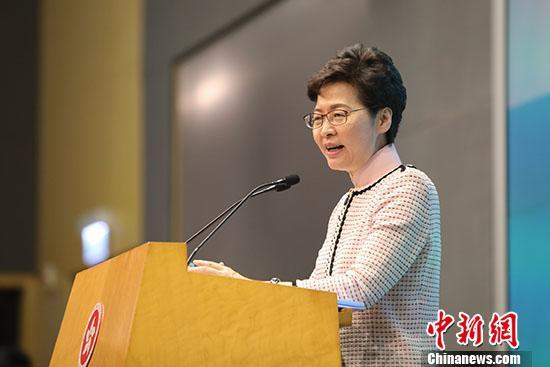 林郑月娥谈施政报告:大胆接纳香港市民乐见的政策措施