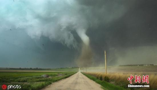 材料图:龙卷风。 图片滥觞:ICphoto