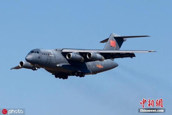 2019年10月17日,吉林长春,庆祝人民空想到军成立70周年航空开放活动在如期举行。