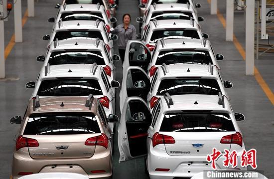 工信部:到2025年新能源汽车新车销量占比25%