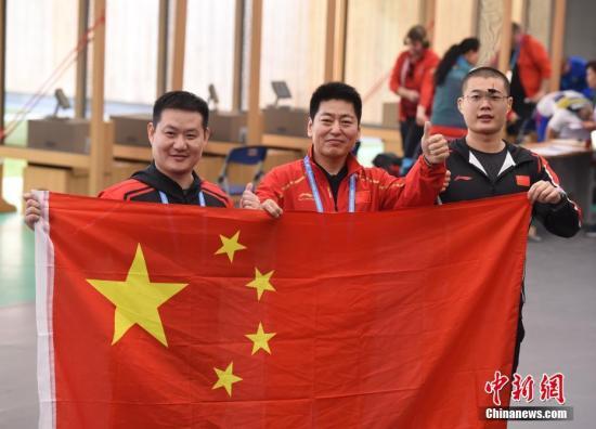43岁老将金泳德领衔中国八一射击队夺武汉军运会首金