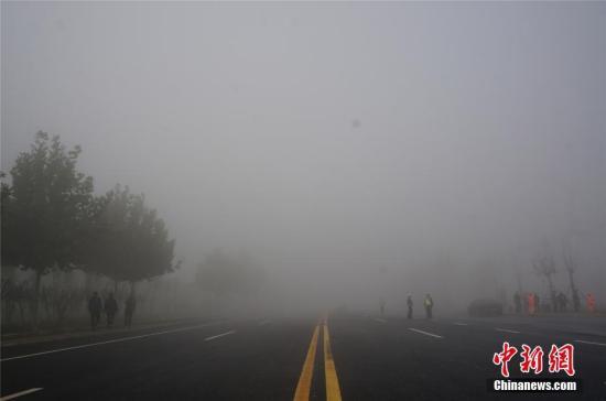 『资』『料』『图』『:』『大』『雾』『天』『气』『。』 『韩』『章』『云』 『摄』