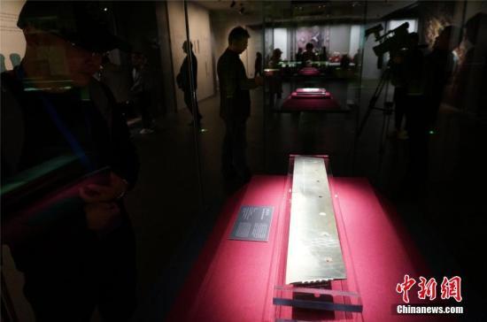 图为二里头夏都遗址博物馆内景。 韩章云 摄