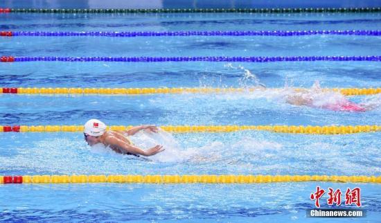 冬训期间苦练!接连打破游泳纪录的张雨霏也是体能标兵