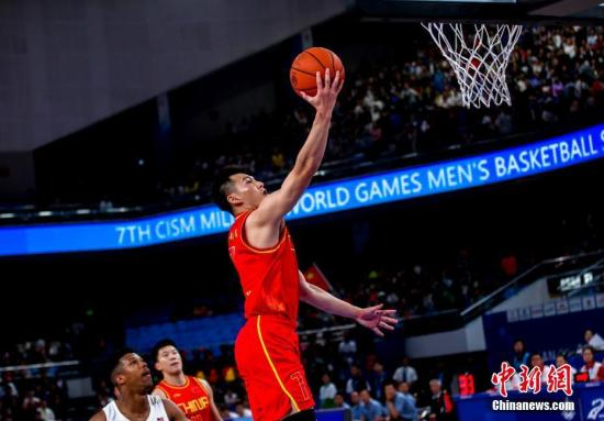 中国八一男篮惜败立陶宛队无缘军运会决赛