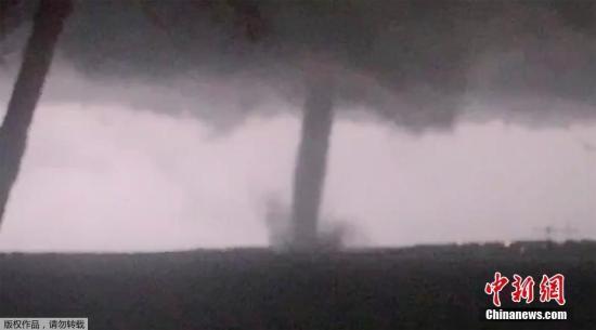 本地工夫10月20日,好国得克萨斯州北达推斯出卷风。
