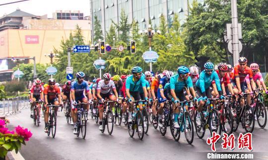 2019环广西公路自行车世界巡回赛 西班牙车手夺总冠军