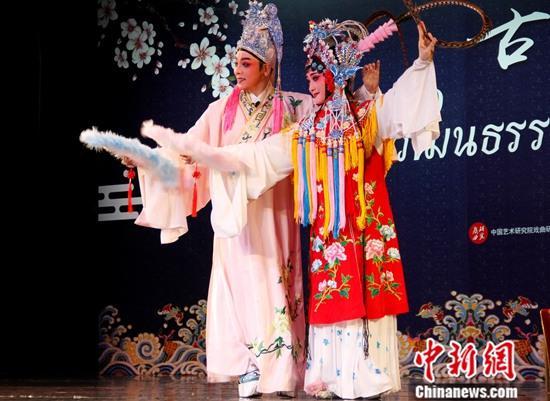 中泰传统戏剧在曼谷同台献艺