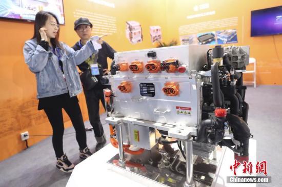中国原创科技前沿产品亮相科博会