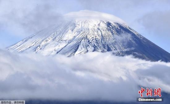日本新防灾地图祥林嫂:若富士山喷发 熔岩流抵达范围扩大