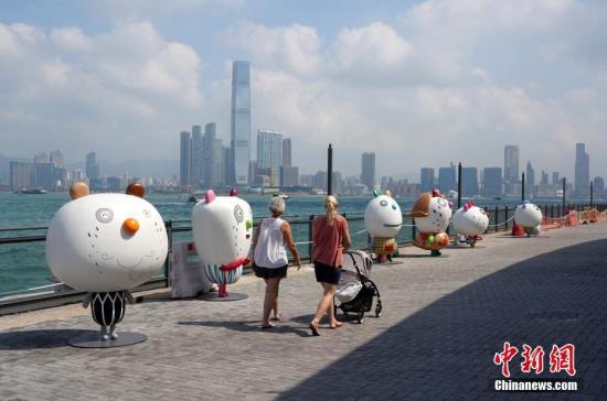 原料图:香港中西区丰物道海滨息憩用地。 中新社记者 张炜 摄