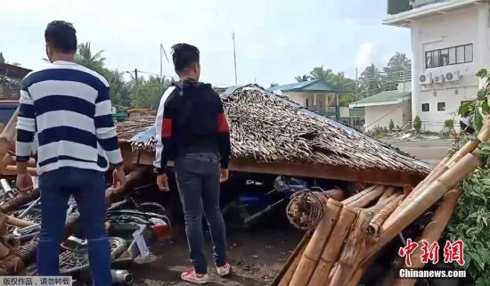 当地时间10月29日上午9时4分许,菲律宾南部棉兰老岛发生6.6级地震。