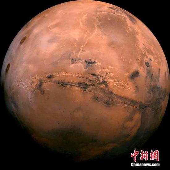 資料圖:火星。
