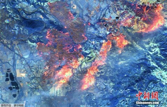 强风又吹燃2处新火 美加州或重演致命山火灾害?