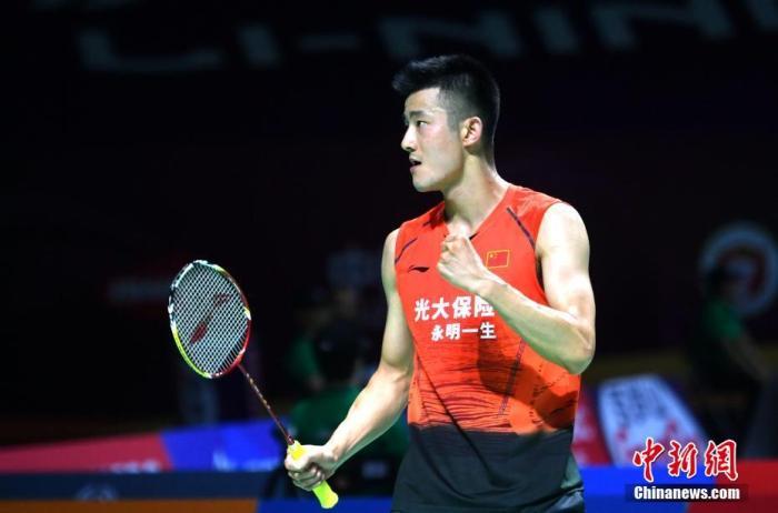 资料图:谌龙在比赛中。<a target='_blank' href='http://www.chinanews.com/'>中新社</a>记者 吕明 摄