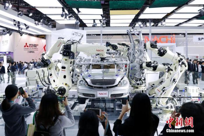 资料图:汽车制造平台。<a target='_blank' href='http://www.chinanews.com/'>中新社</a>记者 韩海丹 摄