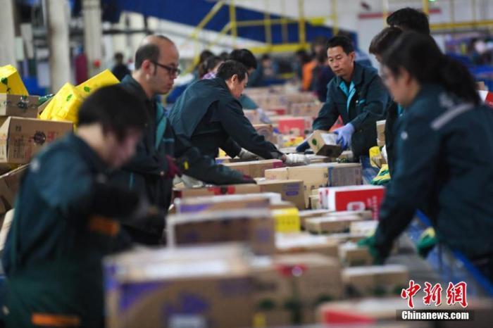 前五月邮政行业业务收入4041.3亿元 同比增长8.9%图片