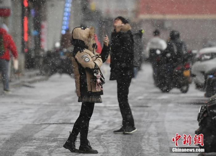雨雪天气将至!冷空气影响中东部地区将出现小到中雪或雨夹雪
