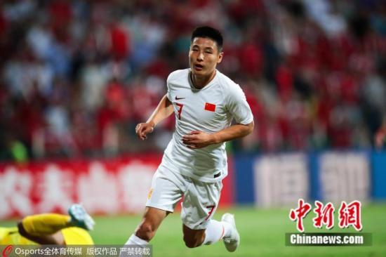 武磊的扳平进球,甚至一度让国足看到取胜的希望。图片来源:Osports全体育图片社