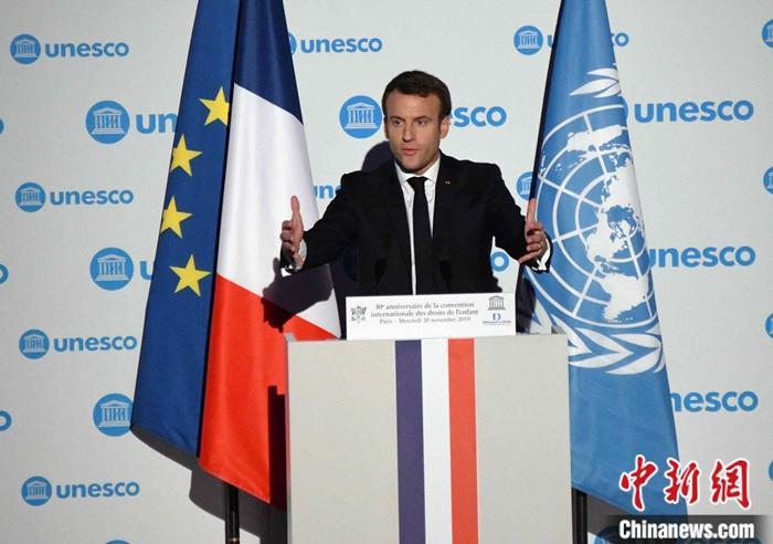 资料图:法国总统马克龙。<a target='_blank' href='http://vyif.cn/'>中新社</a>记者 李洋 摄