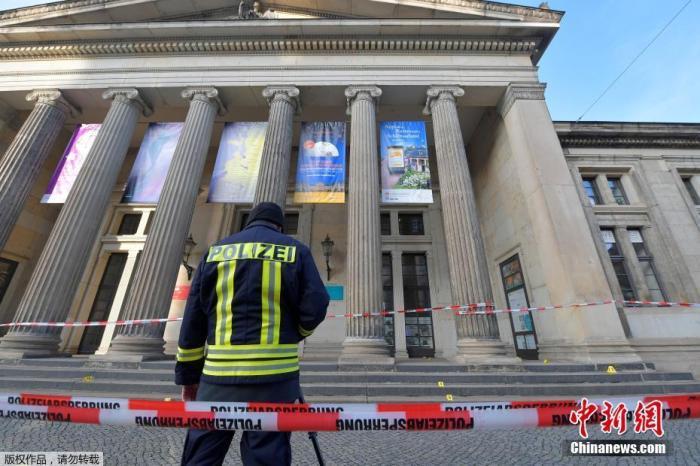 位于德国德累斯顿老城区的绿穹珍宝馆发生盗窃事件,