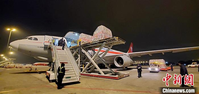 四川航空开通成都至布鲁塞尔全货机航线