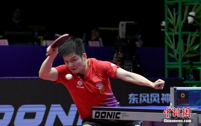 乒联总决赛:樊振东4:1击败马龙夺冠