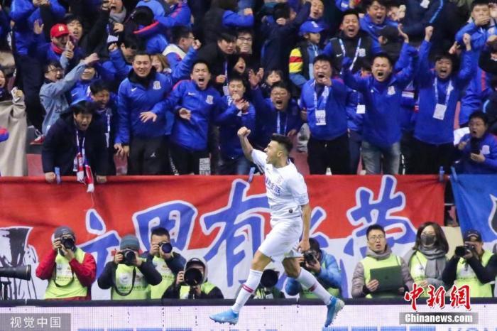 赛季中期加盟申花的沙拉维成了足协杯奇兵。图片来源:视觉中国