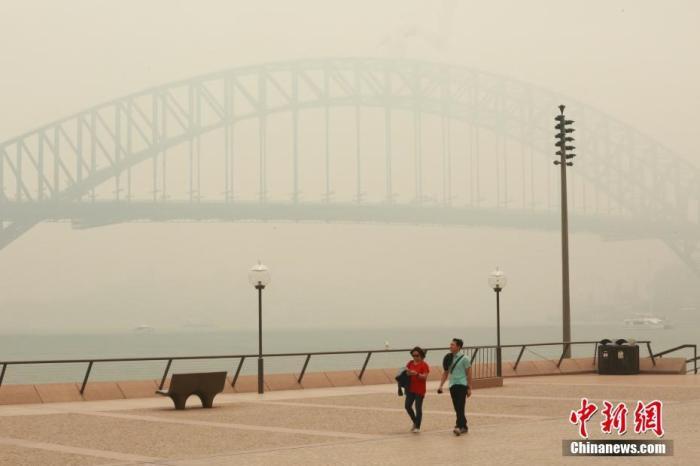 澳新州仍面临严重林火危险 燃烧面积已达270万公顷