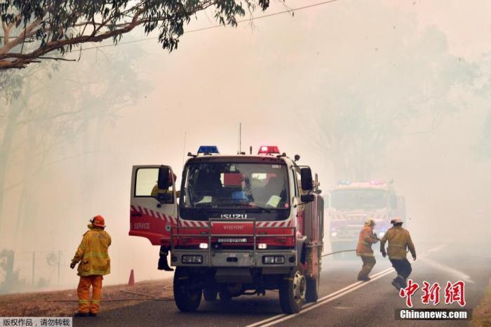 澳山火释放约2.5亿吨二氧化碳 近2018年排放量一半
