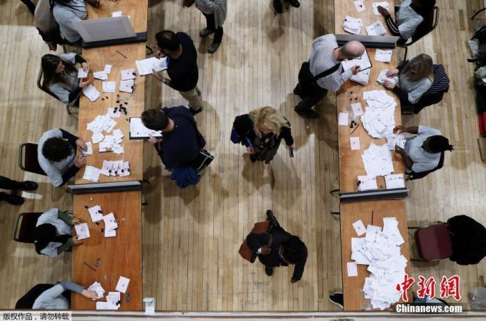 出口民调显示保守党赢得大选 英镑闻讯走高