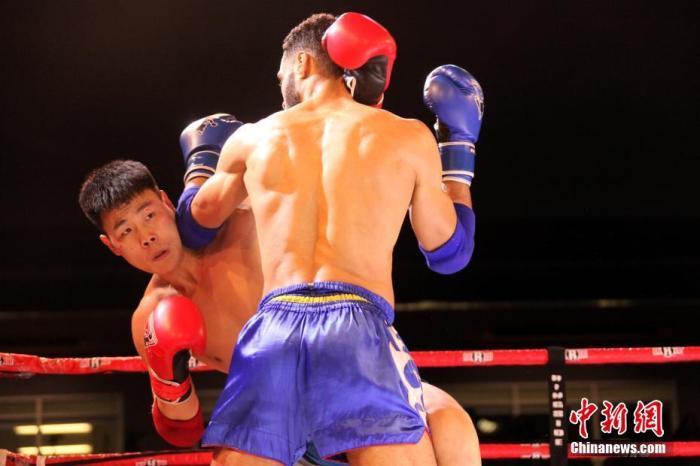 """第五届""""武林风""""中加搏击赛:中国拳手不敌加拿大对手"""