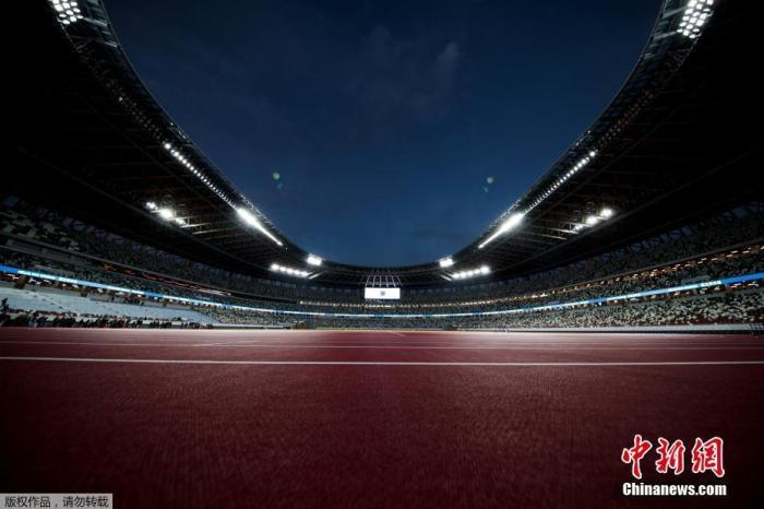 資料圖:2020年東京奧運會和殘奧會主場館日本國立競技場。