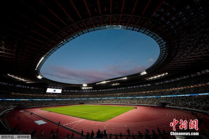 2020年东京奥运会和残奥会主场馆日本国立竞技场。