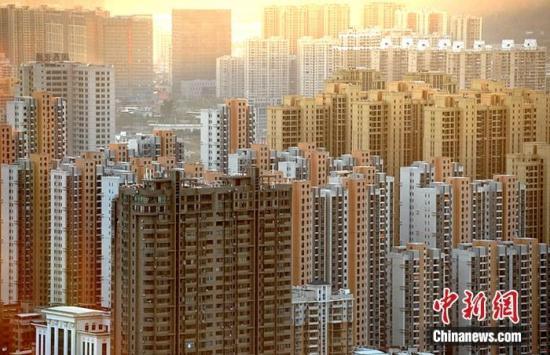 资料图为福建省龙岩市区一处房地产楼盘。<a target='_blank' href='http://www.chinanews.com/'>中新社</a>记者 张斌 摄