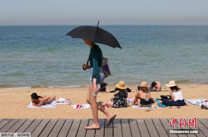 热晕了!澳大利亚单日最高平均气温再破纪录达41.9℃