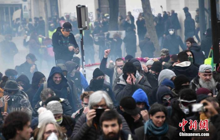 2019年的最后一个周末,法国大罢工仍在持续