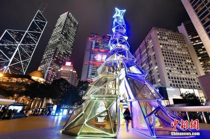 资料图:香港中环。 <a target='_blank' href='http://www.chinanews.com/'>中新社</a>记者 李志华 摄