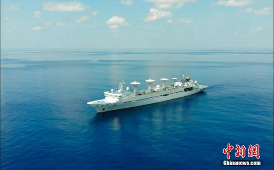 China's space tracking ship sets sail on monitoring missions