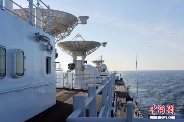 中国卫星海上测控部:远望号测量船队完成2019年度任务凯旋
