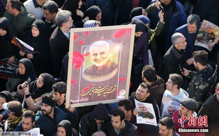 就苏莱曼尼被暗杀一事,伊朗、伊拉克将联合起诉美国