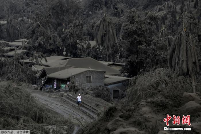 当地时间1月13日,菲律宾八打雁省,居住在爆发的塔尔火山附近的民众正紧急撤离。据报道,菲律宾旅游胜地塔尔火山(Taal)突然喷发火山灰和蒸汽,之后开始涌出熔岩。据悉,当局已疏散附近8000居民。目前,当地政府机关和各级学校已停班停课,当地马尼拉国际机场部分关闭,数百航班停飞,估计恐有45万人需要撤离。