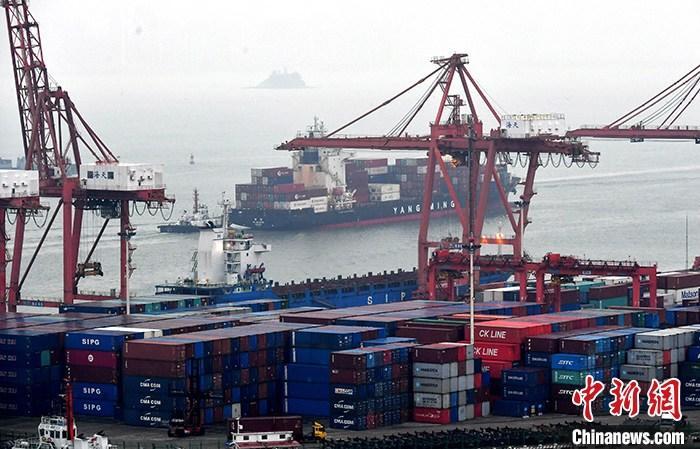 资料图:图为厦门东渡港。 中新社记者 吕明 摄