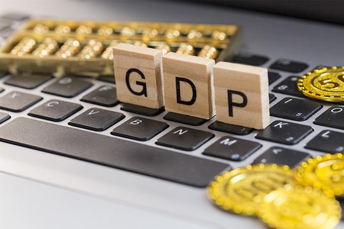 GDP配图。图片来源:全景图库
