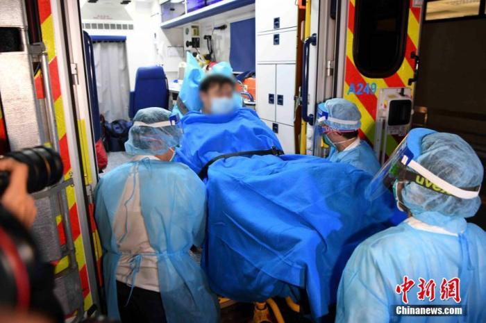 1月22日,香港发现首宗高度怀疑感染新型冠状病毒肺炎病例。中新社记者 麦尚旻 摄