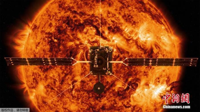 """NASA发射""""太阳轨道飞行器"""" 将揭示太阳磁场奥秘(图)"""