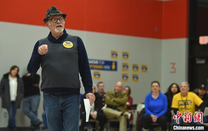 美艾州民主党初选布蒂吉格险胜 桑德斯阵营质疑结果